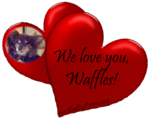 We love you waffles